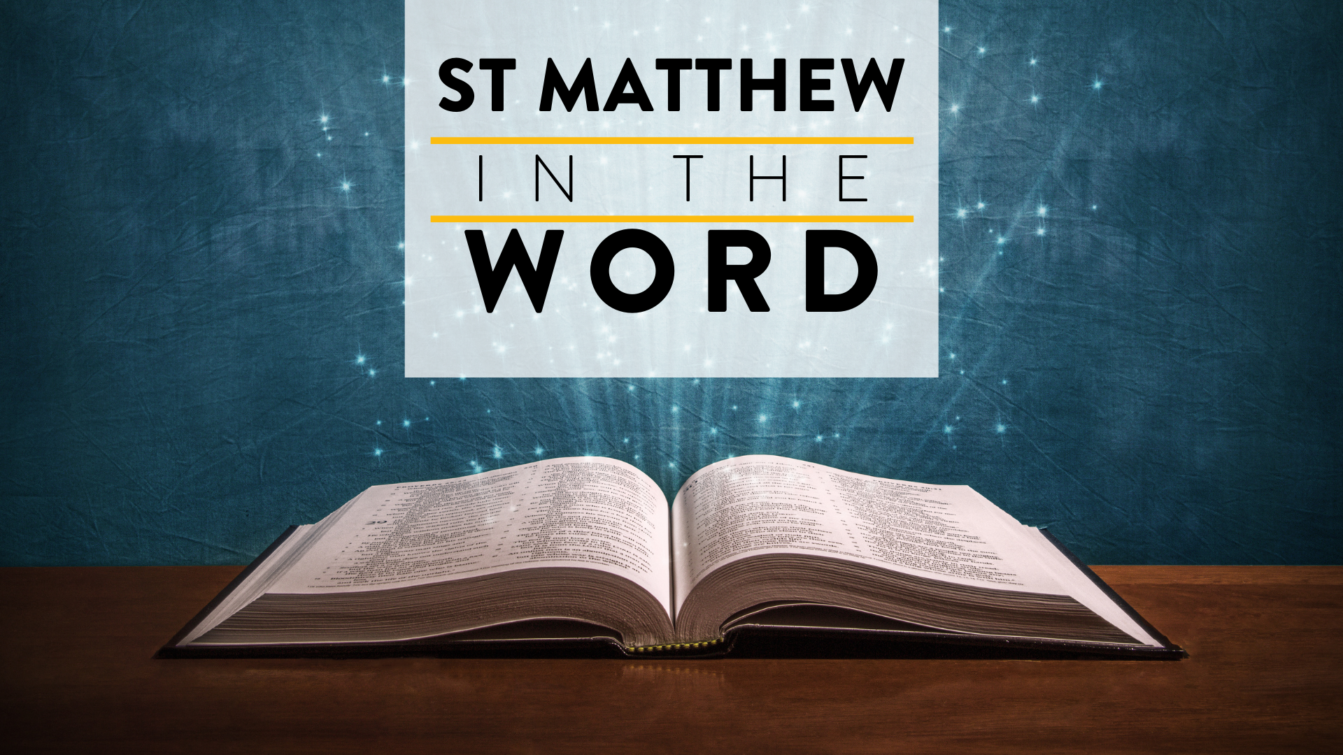 St Matthew in the Word: Genesis 4